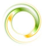 抽象明亮的商标圆环 免版税库存照片