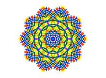 抽象明亮的颜色形状 向量例证