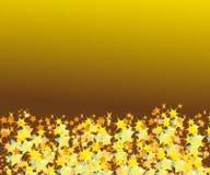 抽象星形框架 免版税库存照片