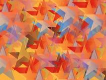 抽象星形背景 库存图片