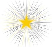 抽象星形 向量例证