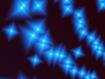 抽象星形 皇族释放例证