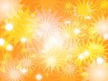 抽象星蠕虫颜色迷离背景设计 向量例证