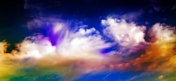 抽象星系空间天空 库存图片
