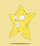 抽象星 免版税库存图片