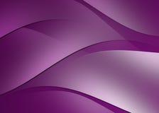 抽象曲线和线紫色背景 库存照片