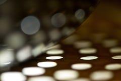 抽象曲线和轻的圈子 免版税库存照片