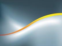 抽象曲线桔子