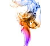 抽象曲线烟 库存图片