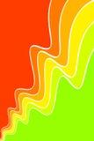抽象曲线 库存例证