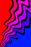抽象曲线 向量例证
