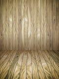 抽象木板条和墙壁背景 免版税图库摄影