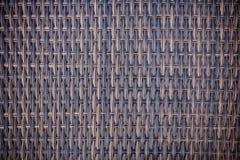 抽象木柳条被编织的纹理背景 库存照片