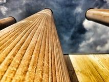 抽象木栅 图库摄影