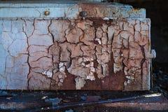抽象未加工的老油漆肮脏的墙壁背景 免版税库存照片