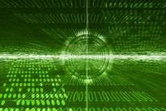 抽象未来派技术 向量例证