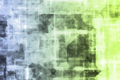 抽象未来派技术 皇族释放例证