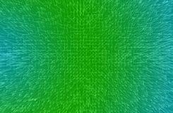 抽象未来派绿色背景 免版税库存照片