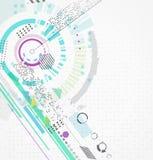抽象未来派企业背景 库存照片