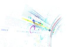 抽象未来派企业背景 免版税库存照片