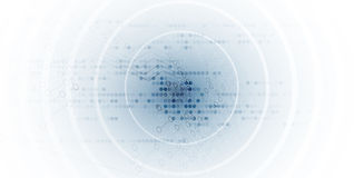 抽象未来派电路计算机互联网技术委员会 库存例证