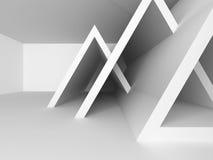 抽象未来派建筑学设计背景 免版税库存图片