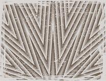 抽象条纹图形 免版税库存照片