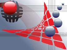 抽象构思设计万维网 免版税图库摄影