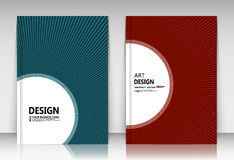 抽象构成,名片集合,书信汇集, a4小册子标题板料,蓝色,红色飞行物表面,创造性的tex 图库摄影