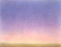 抽象柔和的淡色彩被绘的纸背景 库存图片
