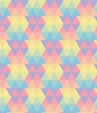 抽象样式三角样式,传染媒介,淡色 库存例证