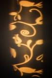 抽象样式显示作为在墙壁上的阴影 库存照片