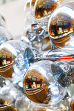 抽象样式玻璃圈子 免版税库存照片