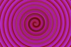抽象桃红色旋转 库存图片