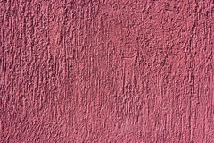 抽象桃红色膏药 粗砺的墙壁 膏药纹理 修理和建筑 免版税库存图片