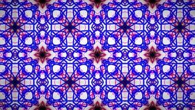 抽象桃红色蓝色空白线路墙纸 库存图片