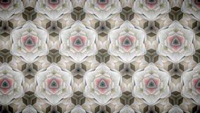 抽象桃红色金豪华专属花墙纸 免版税图库摄影