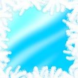 抽象框架冬天 免版税图库摄影