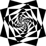 抽象框架多下降的透视 皇族释放例证