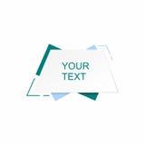 抽象框架文本 免版税图库摄影