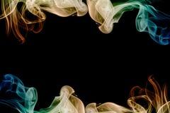 抽象框架烟 免版税库存图片