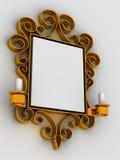 抽象框架装饰品 库存图片