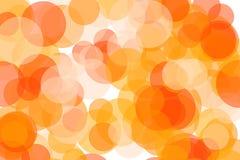 抽象桔子盘旋例证背景 免版税库存图片
