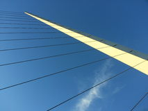 抽象桥梁 库存照片