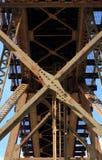 抽象桥梁 免版税库存图片