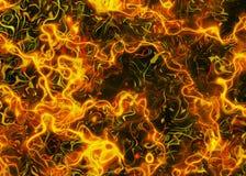 抽象梦想的防火线背景 Freezelight作用 图库摄影