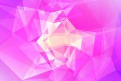 抽象梯度三角背景 免版税库存图片
