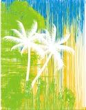抽象棕榈树 免版税库存照片