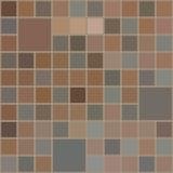 抽象棕色纺织品无缝的样式背景 向量例证