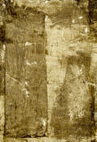 抽象棕色绘画 库存例证
